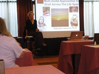 Multi Modal Approaches For Grief Across the Life Span Workshop by Gabrielle Lawrence, Ph.D.